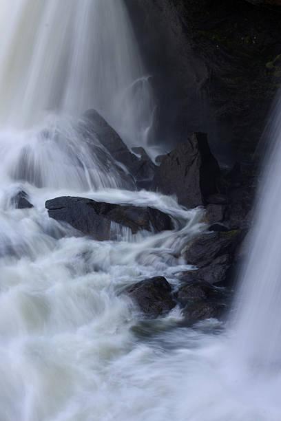 Waterfall Dramatics bildbanksfoto