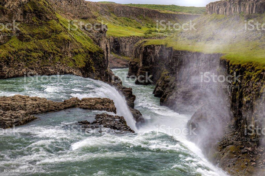 Wasserfall Gulfoss – Foto