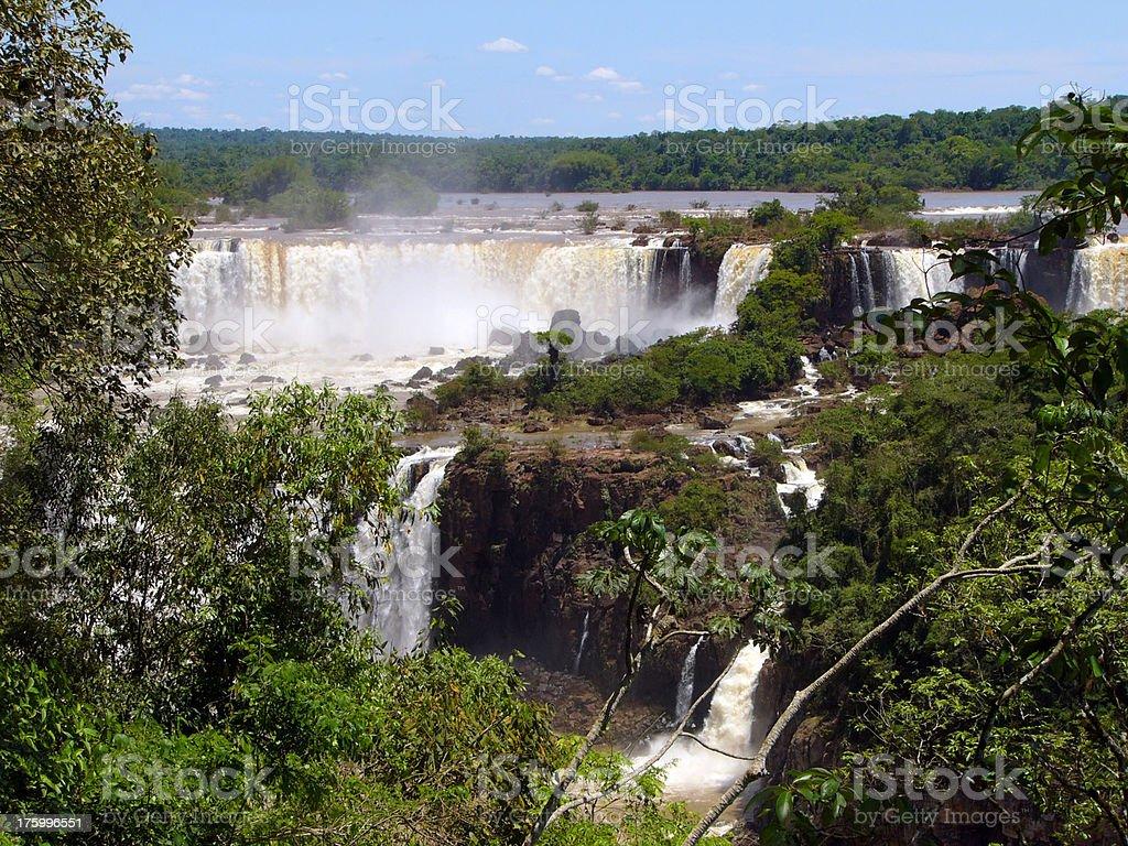 Waterfall. Iguzu royalty-free stock photo