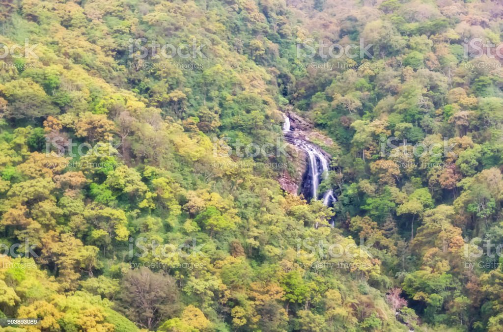 Waterfall in Ella. - Royalty-free Beauty Stock Photo