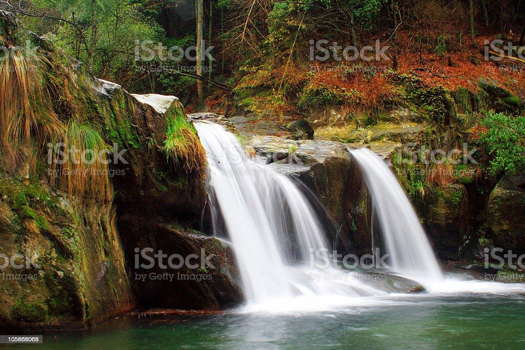 waterfall in jiangxi lushan royalty-free stock photo