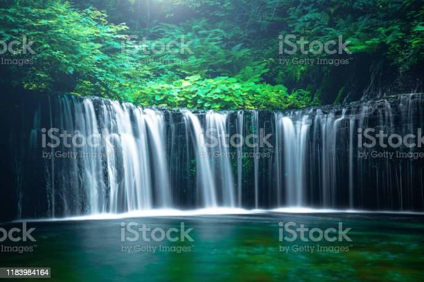 Photo of Waterfall in Karuizawa, Japan