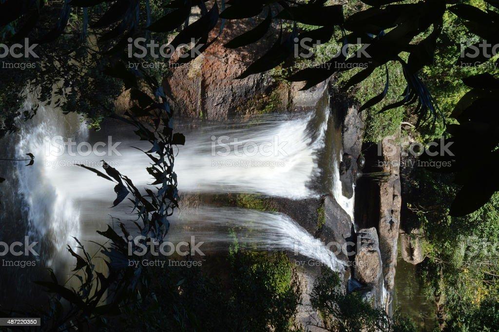 Waterfall in Khaoyai National Park,Thailand stock photo
