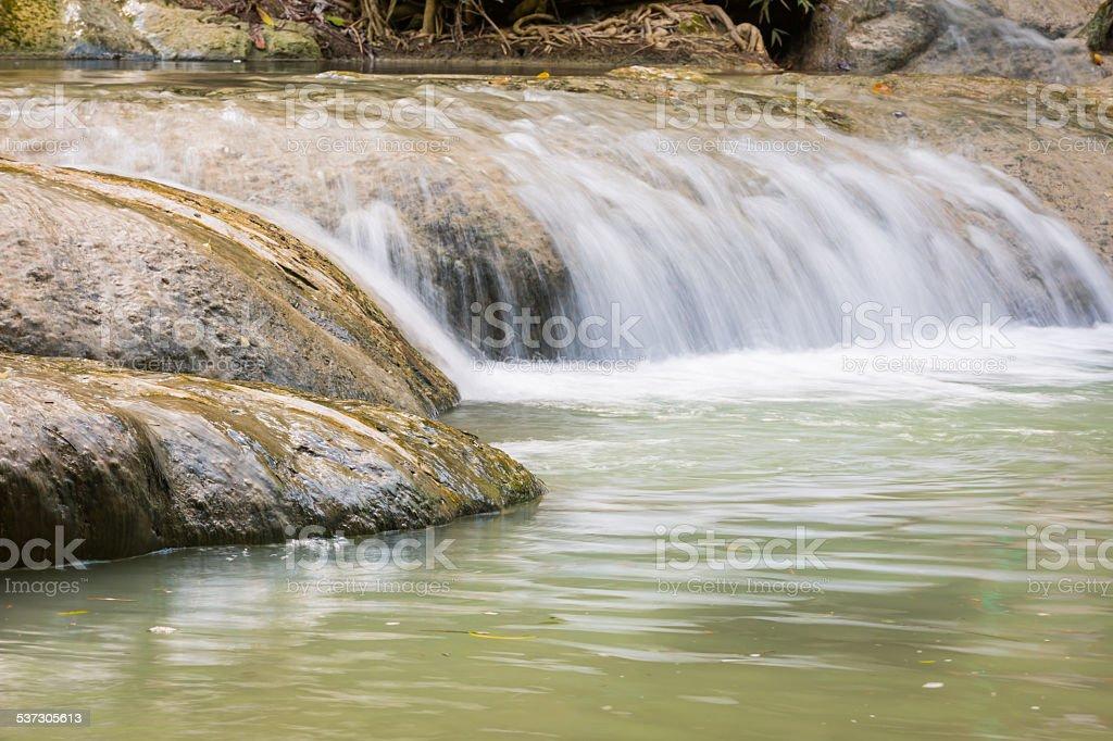 waterfall in Lopburi Thailand (Wang kan laung waterfall Nation P