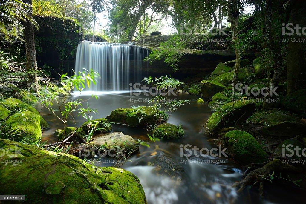 Wasserfall in die Phu Kradueng national park – Foto