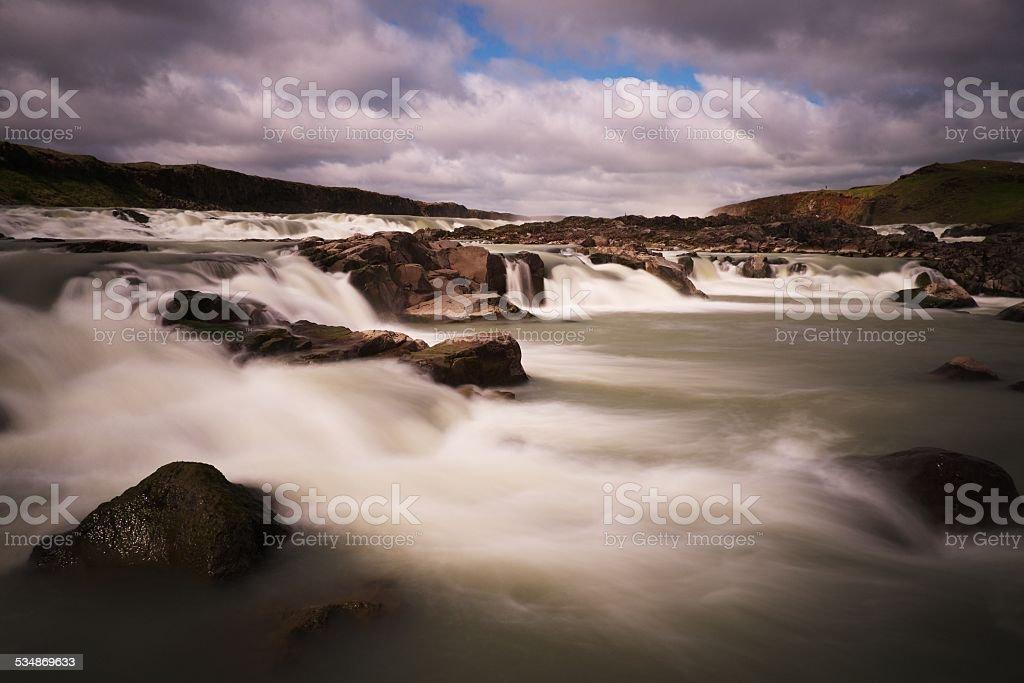 Waterfall in stock photo