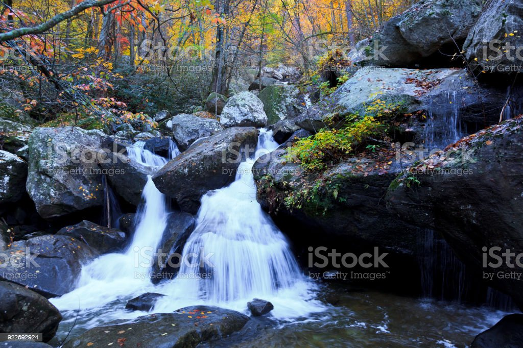 Waterfall in South Mountains State Park