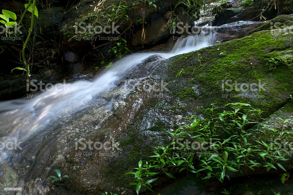 Waterfall landscape in Thailand zbiór zdjęć royalty-free