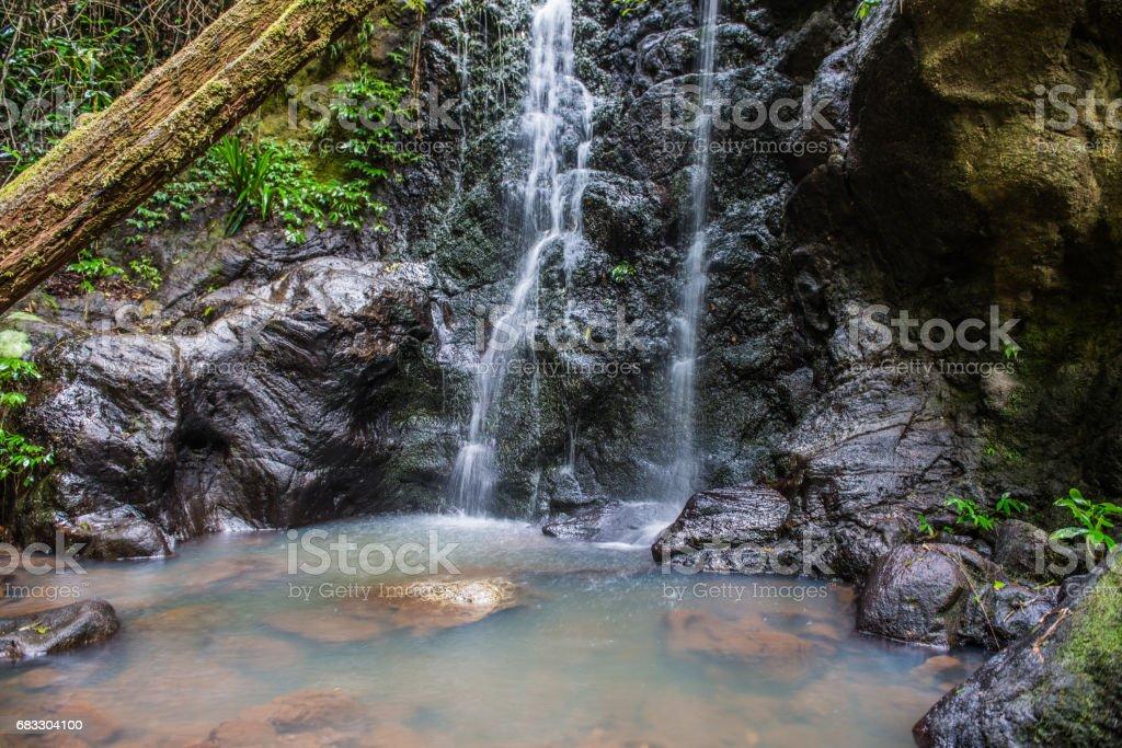 Waterfall long exposure foto stock royalty-free