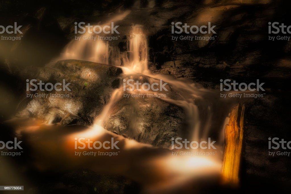 Waterfall magic fairy tale - Royalty-free Autumn Stock Photo