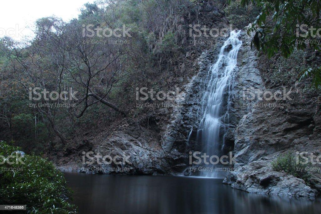 Waterfall Montezuma stock photo