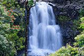 Waterfall on the Hana Highway, Maui