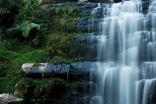 Waterfall This waterfall is in him high seat stock pictures, royalty-free photos & images