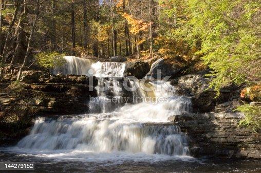 Fulmer Falls in the Delaware Water Gap region, Pennsylvania
