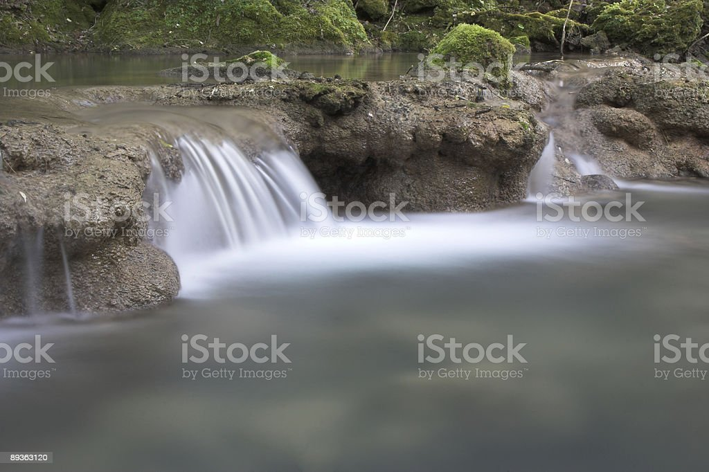 Cascata foto stock royalty-free