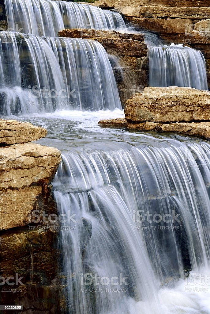 Wasserfall Lizenzfreies stock-foto