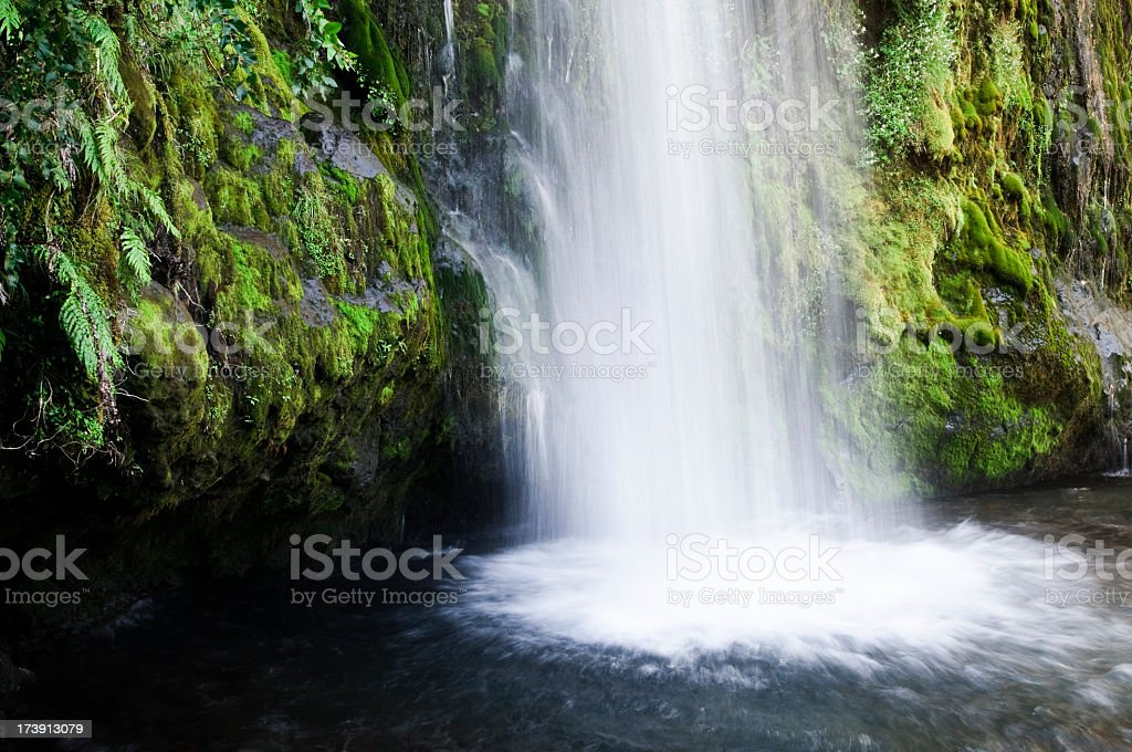 Waterfall Plunge Pool royalty-free stock photo