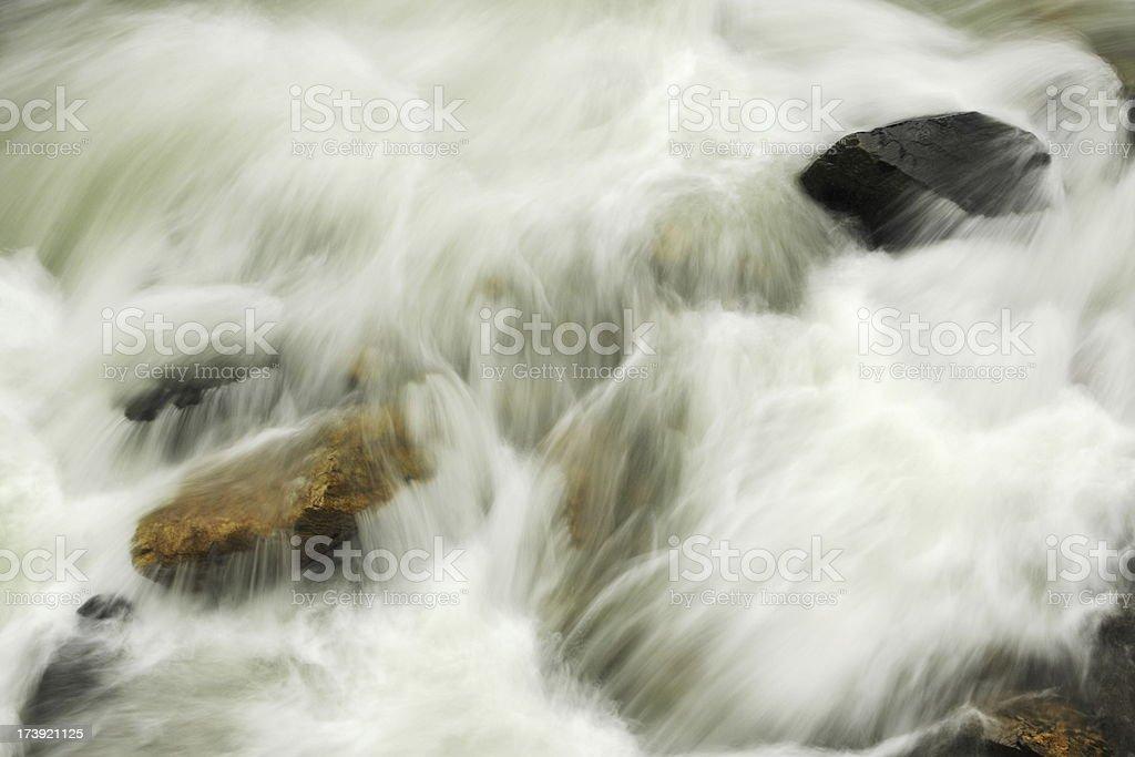 Waterfall Rock Wilderness Stream Cataract stock photo