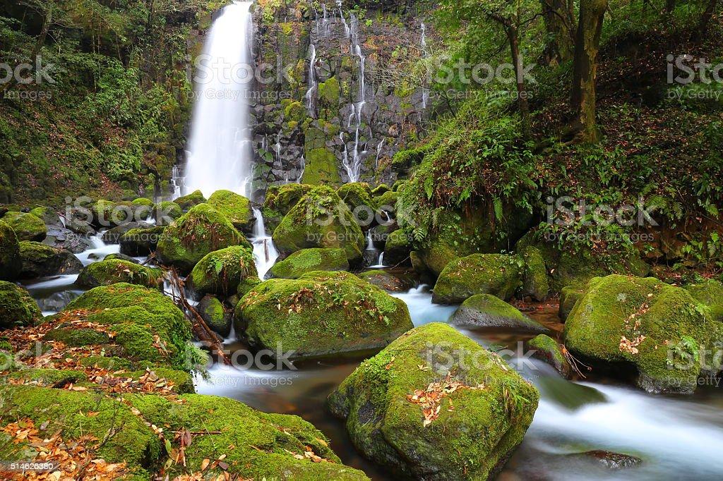 Waterfall Shiraito stock photo