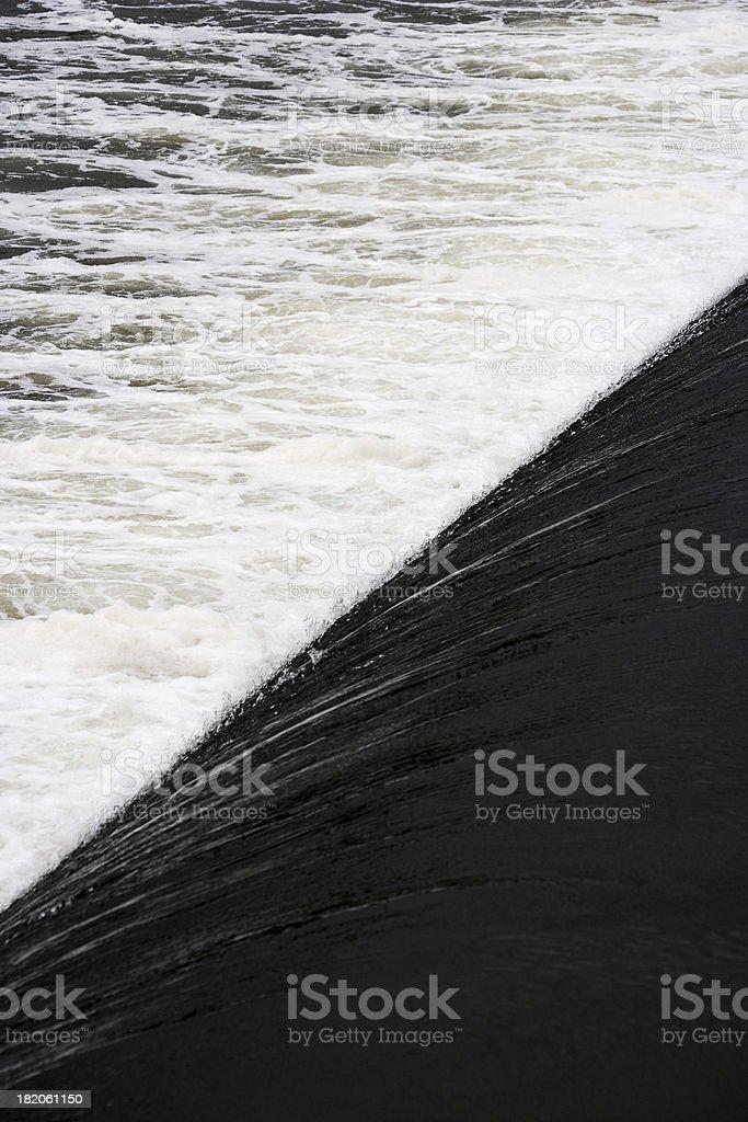 Waterfall Split royalty-free stock photo