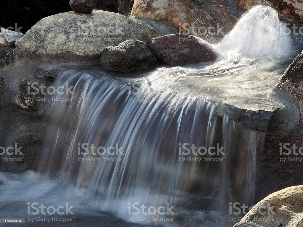 Waterfall Top royalty-free stock photo