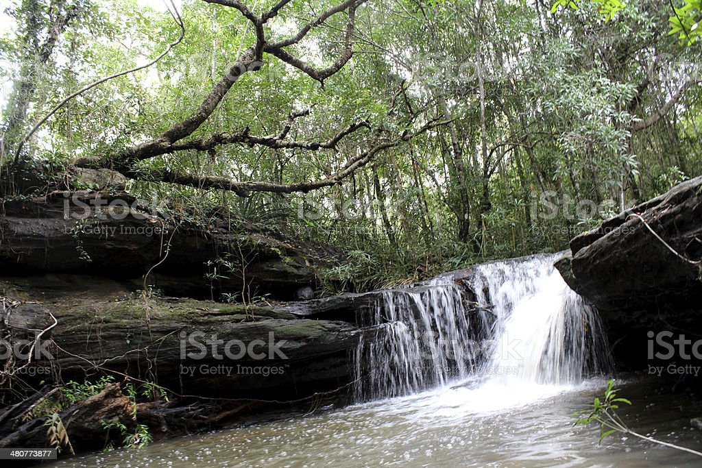 waterfall Ubon Ratchathani Thailand royalty-free stock photo