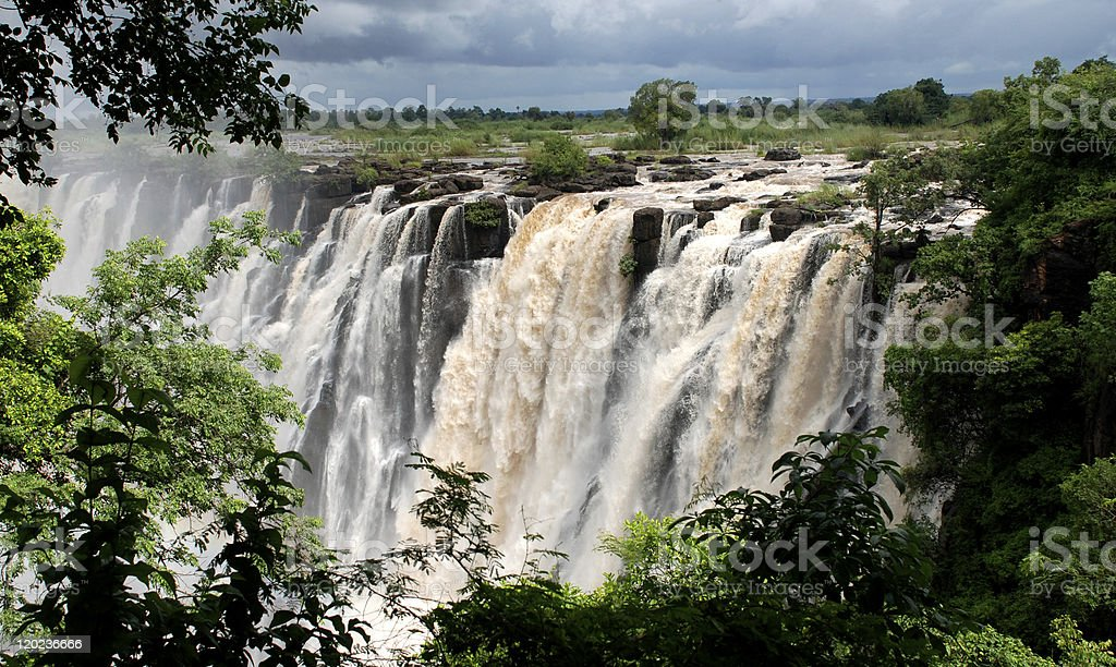 waterfall Victoria(South Africa) royalty-free stock photo