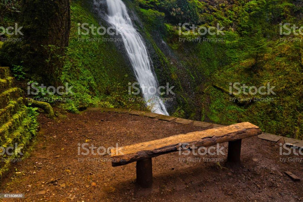 Waterfall View stock photo