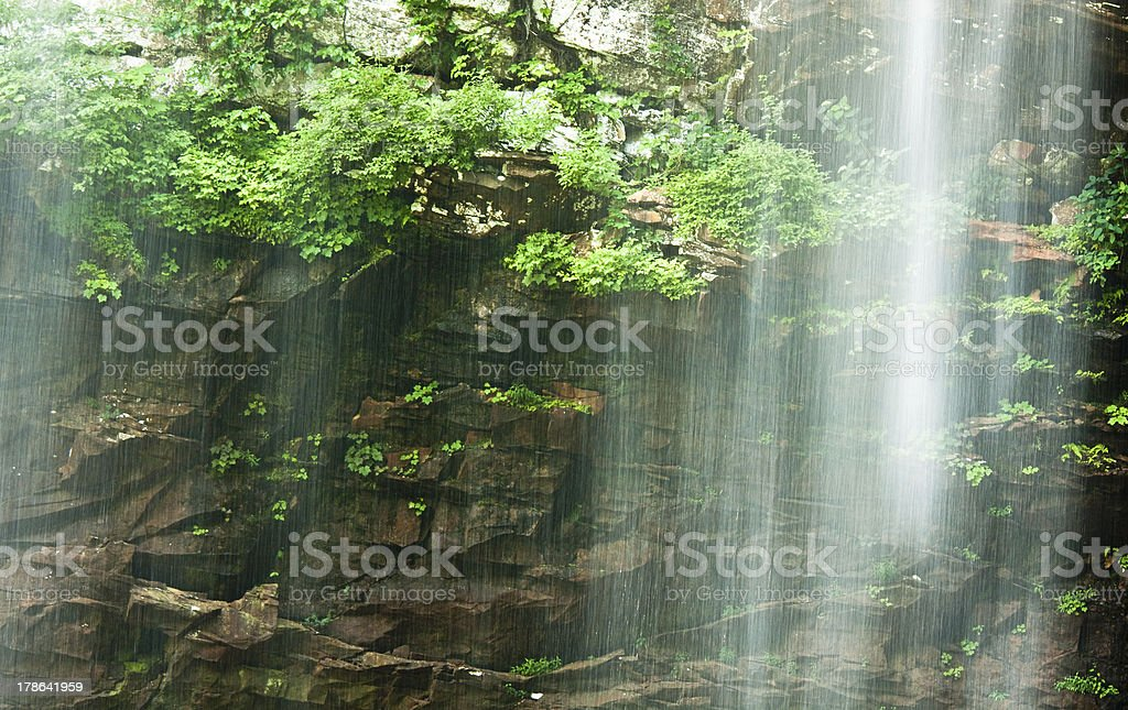 Waterfall with Ethereal Look stock photo