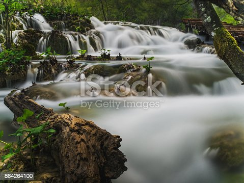 Waterfalls In Plitvice National Park Stock Photo & More Pictures of Beauty In Nature