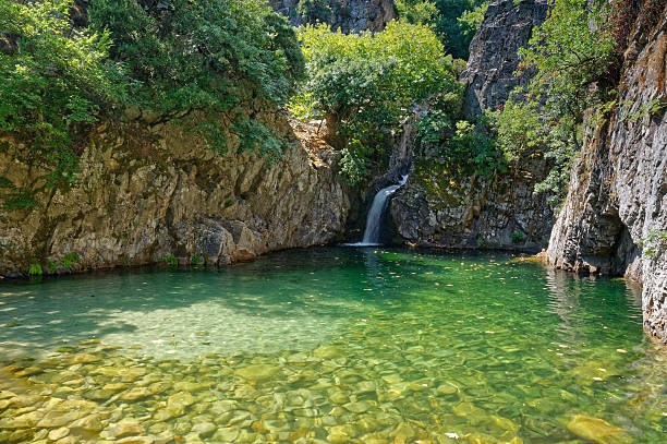 Waterfalls in Samothraki