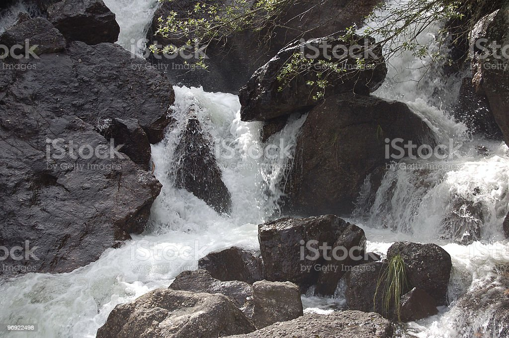 Cascate in Trentino royalty-free stock photo