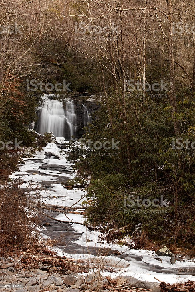 Waterfalls: Meigs Falls - Great Smoky Mountains National Park royalty-free stock photo