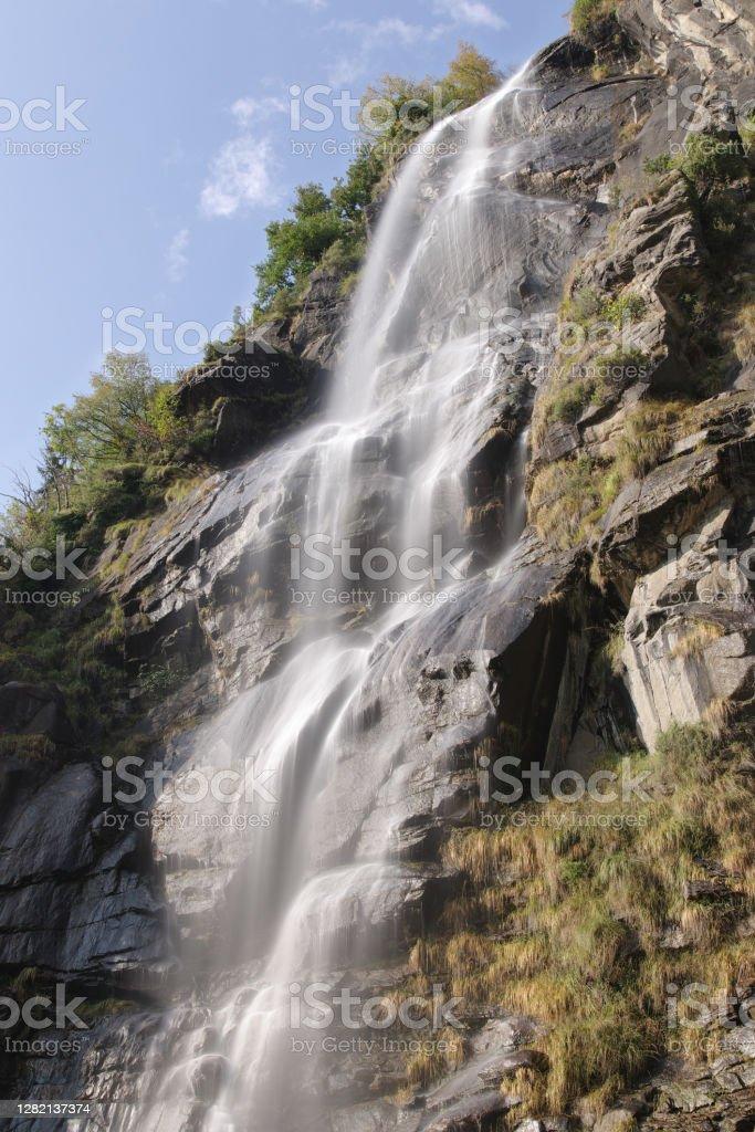 Водопады Аквафраггии - Стоковые фото Без людей роялти-фри