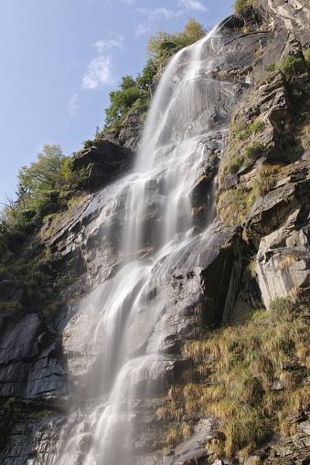 Водопады Аквафраггии — стоковые фотографии и другие картинки Без людей