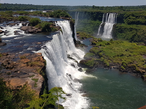 Lindas cataratas em Foz do Iguaçu
