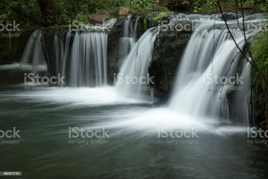 Cascate di Monte Gelata royalty-free stock photo