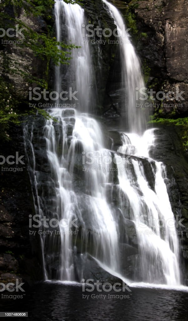 Waterfalls of the Vail stock photo