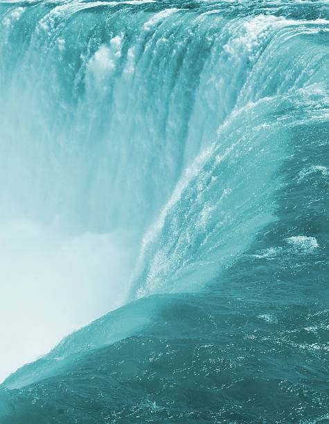 waterfalls - perpetual motion stock photos and pictures