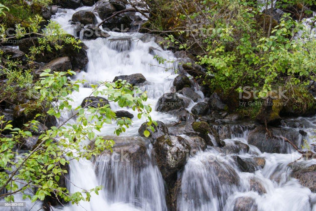 Watervallen - Royalty-free Buitenopname Stockfoto