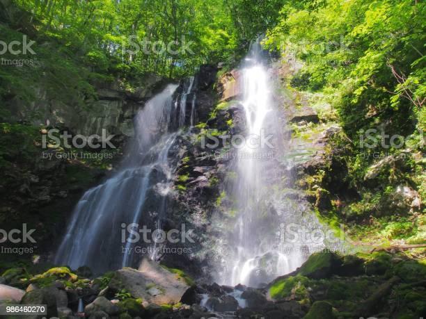 Photo of Waterfall,Tazawako,Akita,Japan