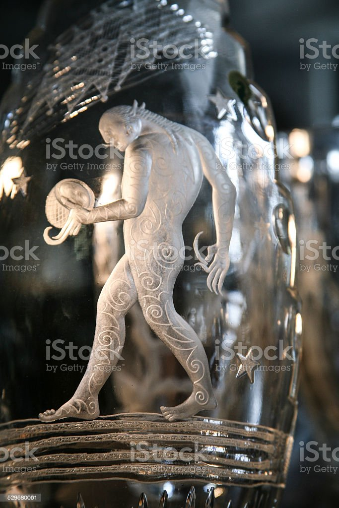 Waterford Crystal stock photo