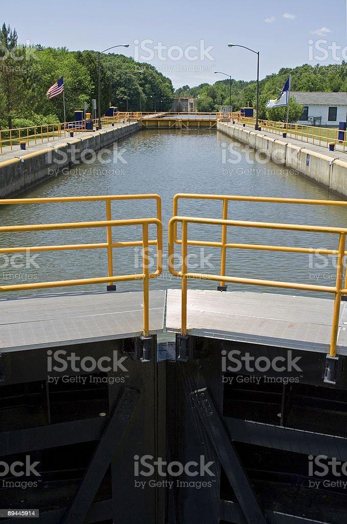 Waterford Locks royalty-free stock photo
