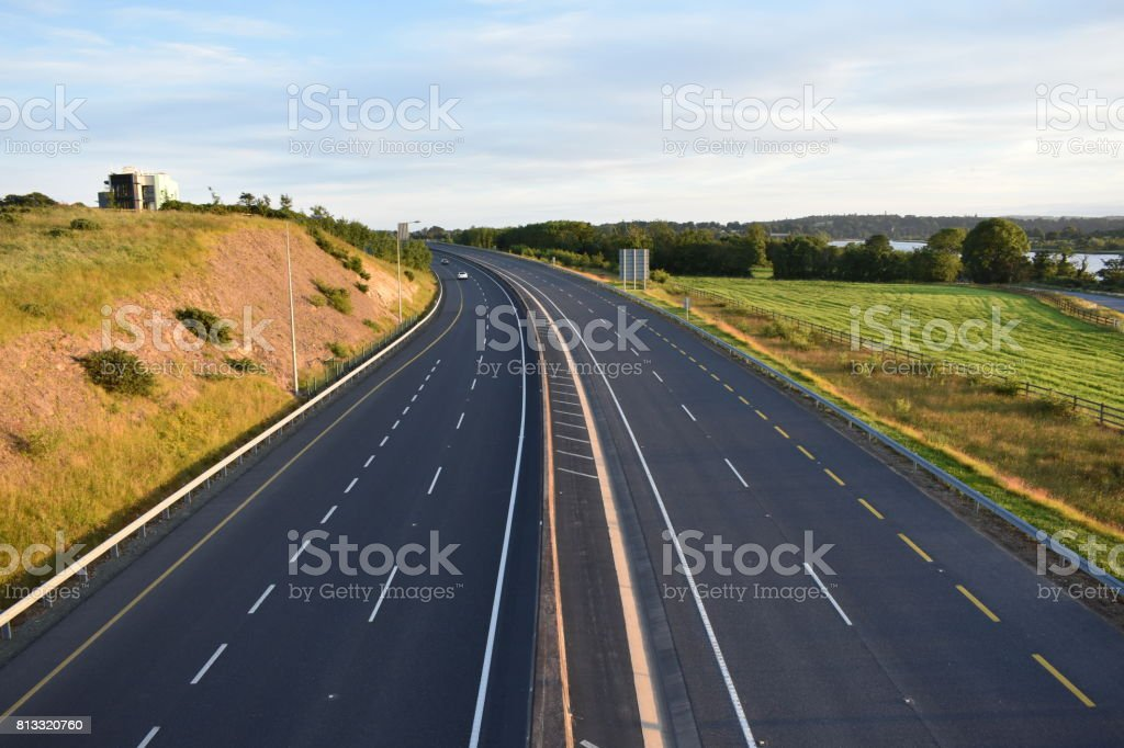 Waterford Ring Road stock photo
