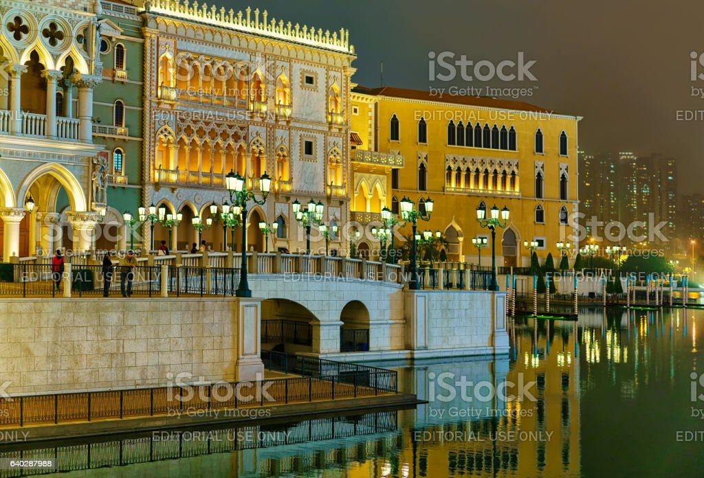 Waterfront and venetian macao casino and hotel luxury for Most expensive hotel in macau