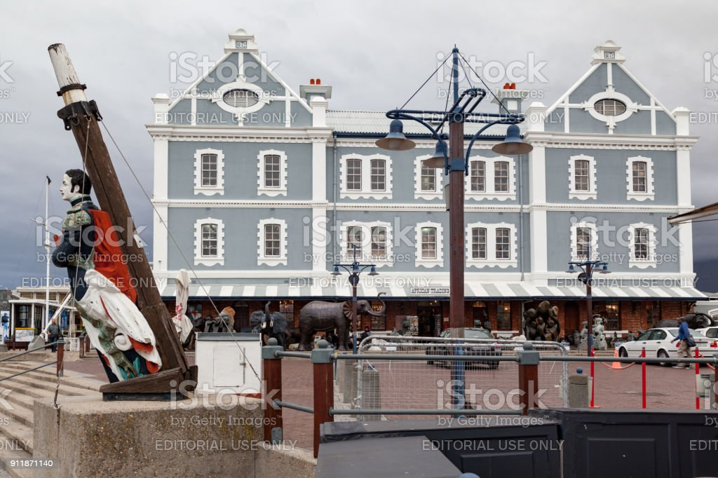 V&A Waterfront Cape Town South Africa stock photo