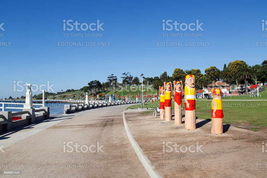 Waterfront - Geelong stock photo