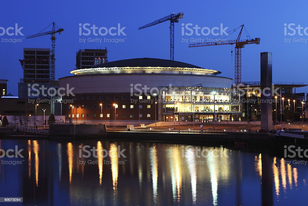 Waterfront Hall Belfast stock photo