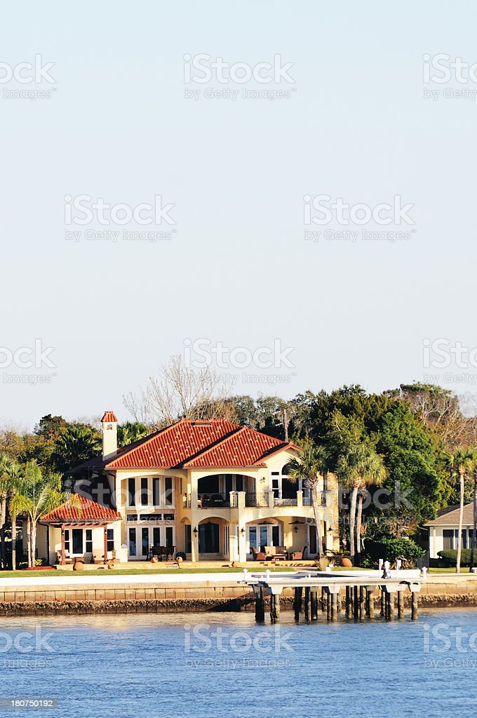 Waterfront Homes On Anastasia Island In Saint Augustine Florida ...