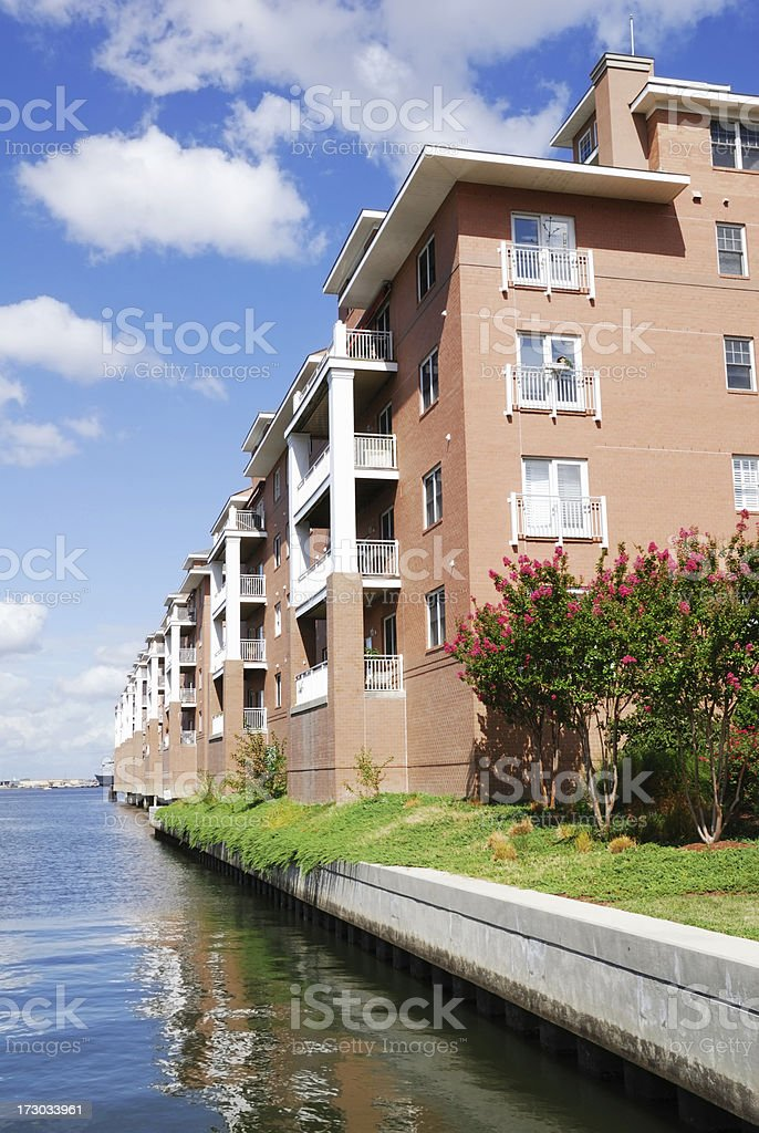 Waterfront Living royalty-free stock photo